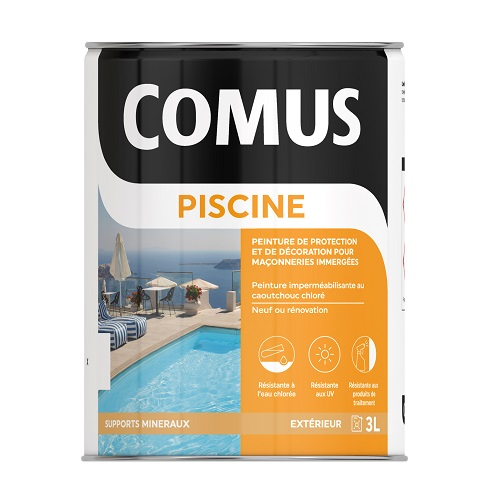 comus piscine peinture imperm abilisante comus. Black Bedroom Furniture Sets. Home Design Ideas