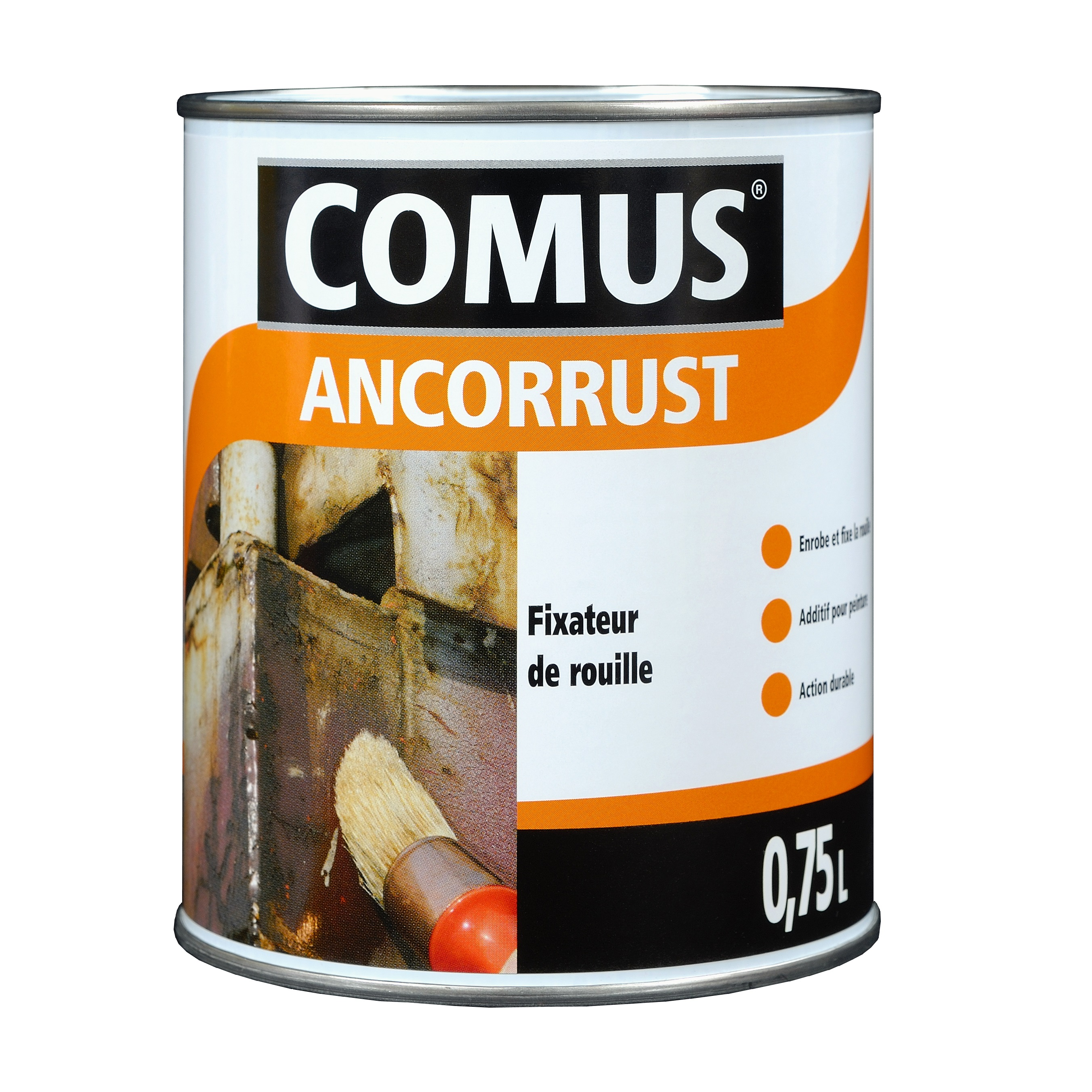 ancorrust vernis fixateur de rouille avant mise en peinture. Black Bedroom Furniture Sets. Home Design Ideas